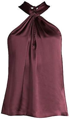Parker Women's Dallas Silk Halter Top
