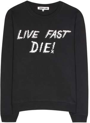 McQ Printed cotton sweatshirt