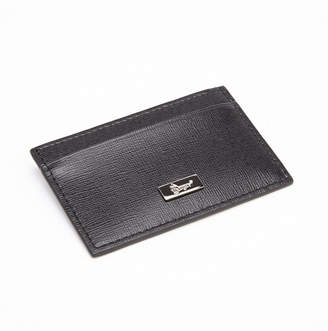 Royce Leather Royce Rfid Blocking Slim Credit Card Wallet in Genuine Saffiano Leather