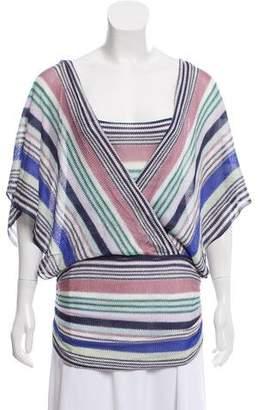 Missoni Knit Striped Top
