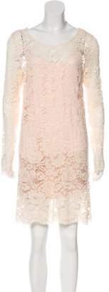 Loyd/Ford Washed Lace Mini Dress w/ Tags