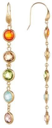 Rivka Friedman Rainbow Crystal Drop Earrings