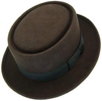 20e8ca66c6b HATsanity Unisex Vintage Wool Felt Pork Pie Hat