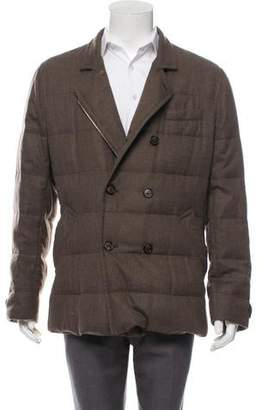 Brunello Cucinelli Cashmere Quilted Jacket w/ Tags