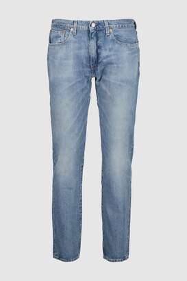 Next Mens Levi's 502 Tapered Fit Jean In Grandpas Warp Wash