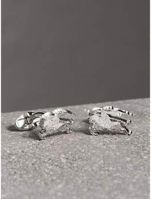 Burberry Equestrian Knight Cufflinks, Grey