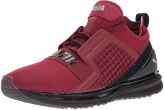 Puma Men's Ignite Limitless Terrain Running Shoes, Tibetan Red Black