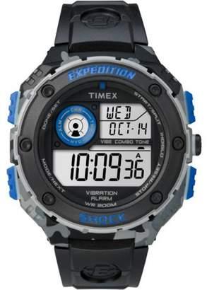 Timex Expedition Grey Digital Dial Plastic Strap Men's Watch TW4B00300