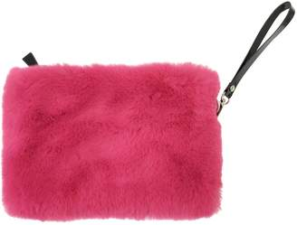 Nooki Design Faux Fur Clutch Fuscia
