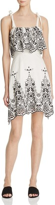 Parker Nia Embroidered Dress $248 thestylecure.com