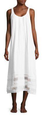Carole HochmanOpen-Work Cotton Gown