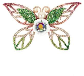 Betsey Johnson Tonal Butterfly Pin