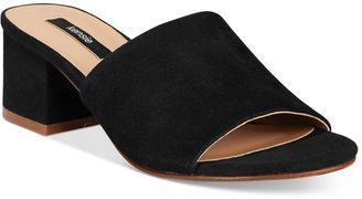 kensie Helina Slide Sandals $69 thestylecure.com