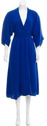 Tome Silk Midi Dress w/ Tags