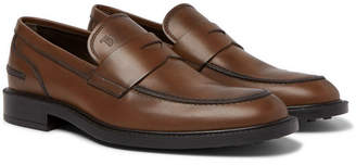 Tod's Leather Penny Loafers - Brown