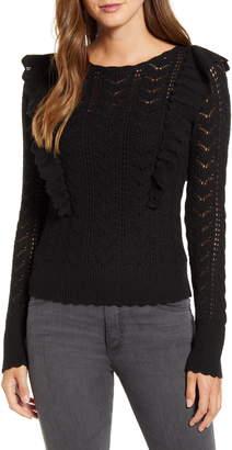 Rachel Parcell Pointelle Sweater