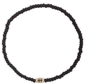 Luis Morais small Cross of Loraine barrel bracelet