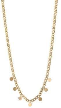 Chicco Zoe 14K Yellow Gold Discs Choker Necklace