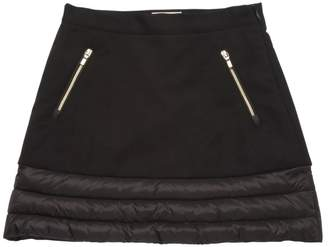 Moncler Cotton Fleece & Nylon Skirt