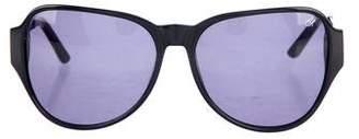 Proenza Schouler Gradient Oversize Sunglasses