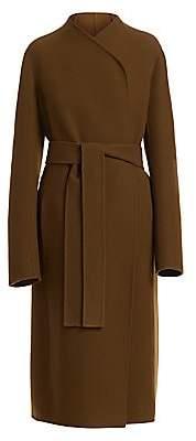 The Row Women's Terin Virgin Wool-Blend Wrap Coat