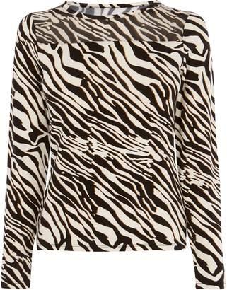 8f140282d5e Next Womens Karen Millen Animal Zebra Print Top