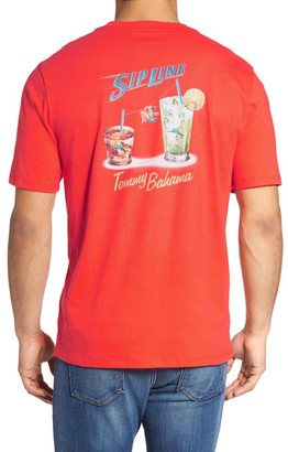 Tommy Bahama Sip Line Graphic Tee (Big & Tall) $58 thestylecure.com