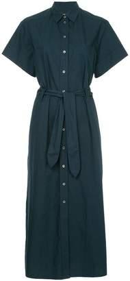 MAISON KITSUNÉ loose fit shortsleeved shirt dress