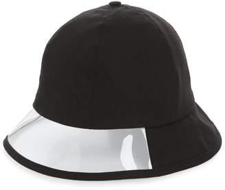 Steve Madden Transparent Panel Canvas Bucket Hat