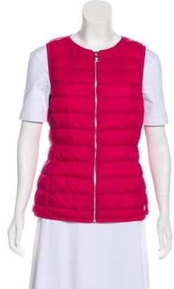 Armani Jeans Zip-Up Puffer Vest
