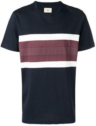Folk stripe detail T-shirt