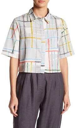 NATIVE YOUTH Spectrum Boxy Crop Shirt
