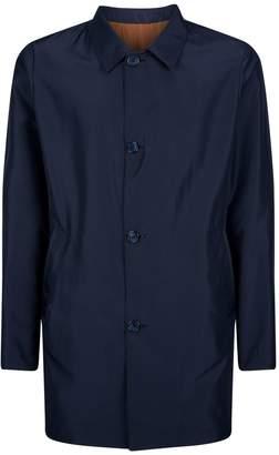Corneliani Reversible Collared Overcoat