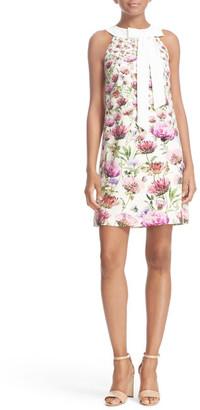 Ted Baker London Lucilee Floral Print Shift Dress $279 thestylecure.com