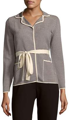 Max Mara Women's Alce Textured Cotton-Blend Sweater