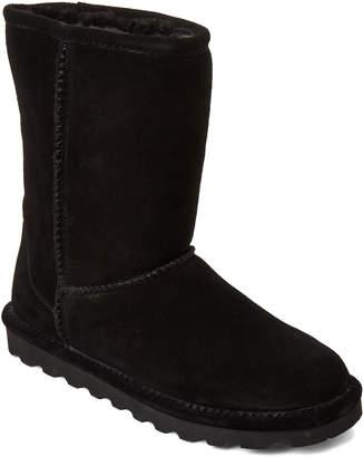 BearPaw Black Elle Short Boots