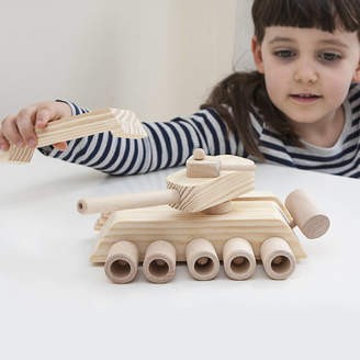 Jonny's Sister Personalised Wooden Tank Craft Kit