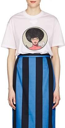 Prada Women's Graphic Cotton T-Shirt