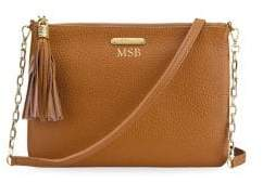GiGi New York Chelsea Pebbled Leather Crossbody