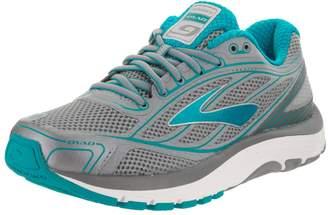 Brooks Women's, Dyad 9 Running Shoe Navy Multi 7.5 B