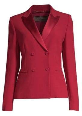 Max Mara Lecco Double-Breasted Evening Jacket