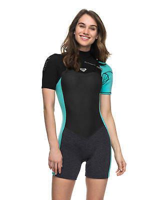 Roxy NEW ROXYTM Womens 2 2mm Performance GBS Chest Zip Springsuit Wetsuit  2017 Womens fd8c6c7b3