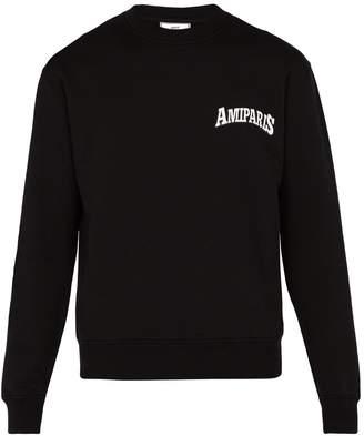 Ami Logo-printed cotton sweatshirt