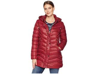 Tribal Softshell Puffer Jacket with Removable Hood