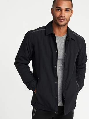 Old Navy Go-H20 Water-Resistant Sherpa-Lined Coach's Jacket for Men