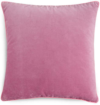 "Bluebellgray Closeout! bluebellgray Heather Velvet 16"" Square Decorative Pillow Bedding"