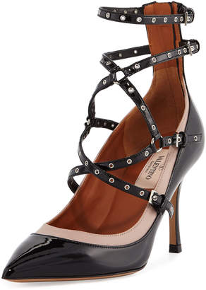 Valentino ANKLE STRAP PUMPS