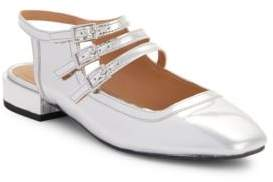 Design Lab Alicia Faux Leather Flats