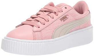 Puma Women's Platform Sneaker Bridal Rose White