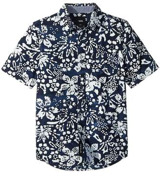 Vans Kids Trippin Batik Trippin Short Sleeve Woven Boy's Clothing